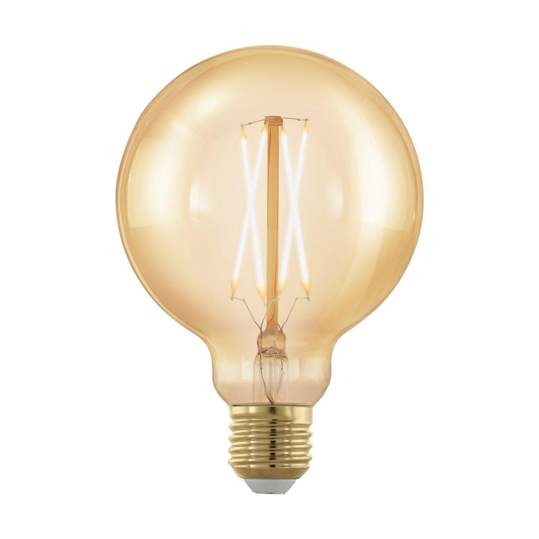 Blanc 320 Lm30 Ampoule W ChaudEglo Ambré E27 Led 95 Décorative Mm RqA35j4L