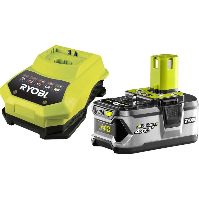 Chargeur Ryobi 1 Batterie One 4ah 18 V