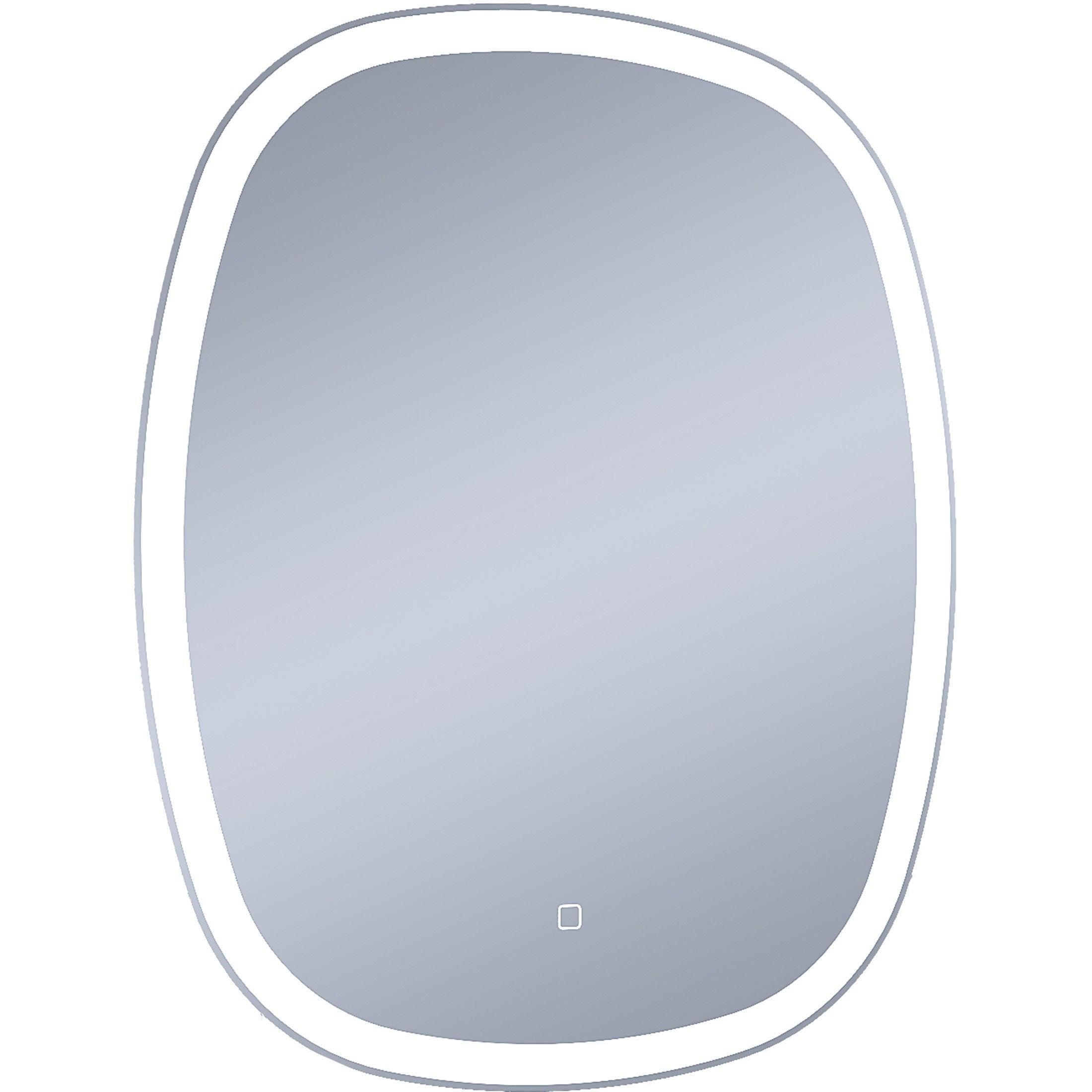 Miroir lumineux avec éclairage intégré, l.65 x H.80 cm Carmen