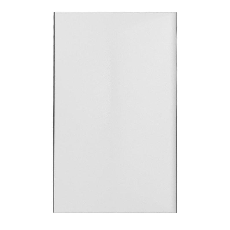 Panneau Mural Salle De Bain Alucolor Blanc H 210 Cm X L 120 Cm