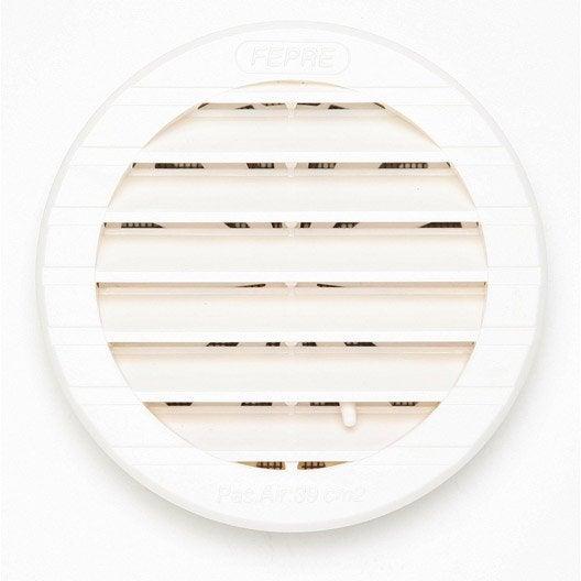 grille d 39 a ration encastrer abs naturel 12x12cm leroy merlin. Black Bedroom Furniture Sets. Home Design Ideas