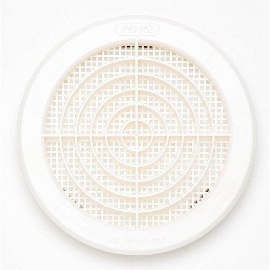 grille d 39 a ration abs naturel cm leroy merlin. Black Bedroom Furniture Sets. Home Design Ideas