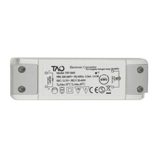 Transformateur fixe inspire leroy merlin for Carrelage adhesif salle de bain avec spot 220v led