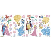 Sticker Princesses 25 cm x 70 cm