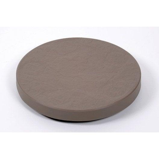 roule pot rond eda marron leroy merlin. Black Bedroom Furniture Sets. Home Design Ideas