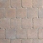 Pavé Axona béton, noir/ocre nuancé , L.15 cm x l.15 cm x Ep.60 mm