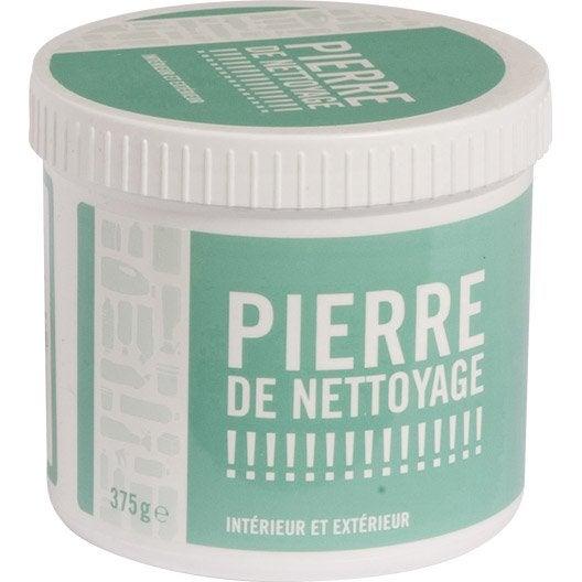 Pierre de nettoyage 375g leroy merlin for Produit de lustrage professionnel