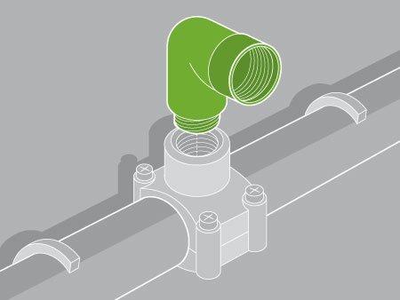 Comment poser un robinet autoperceur leroy merlin for Comment installer un robinet auto perceur