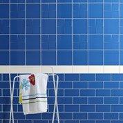 Faïence mur bleu bleu, Astuce l.20 x L.20 cm