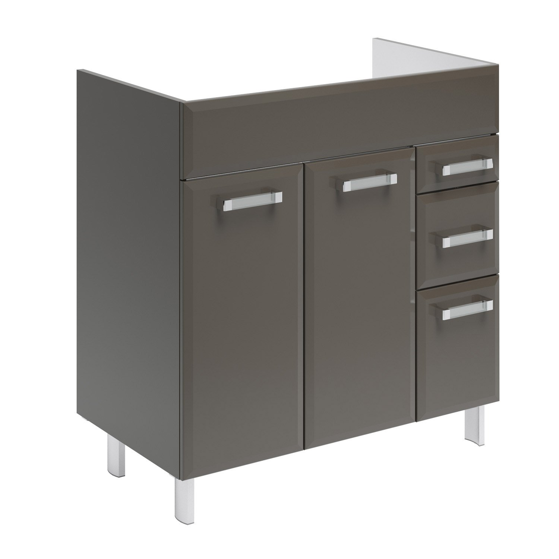 meuble sous vasque x x cm opale leroy. Black Bedroom Furniture Sets. Home Design Ideas