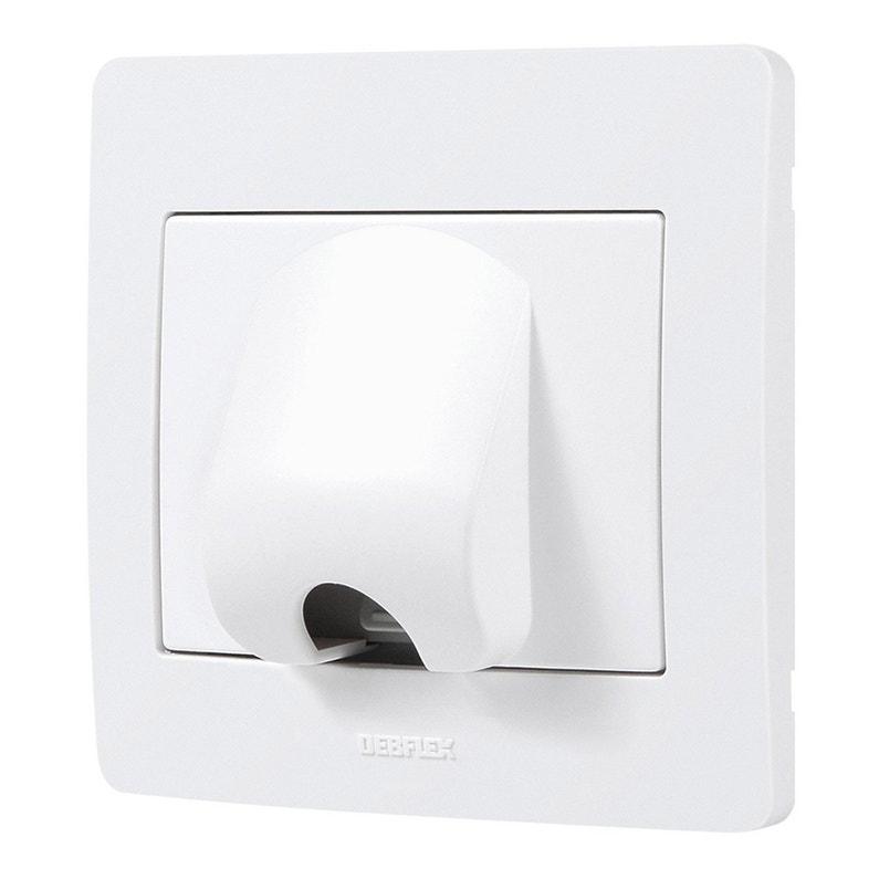 Sortie De Câble Diam2 Blanc Debflex Leroy Merlin