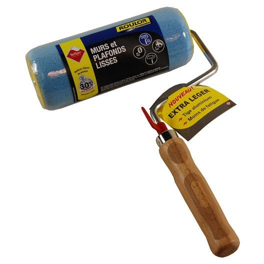 Rouleau toute peinture pour mur et plafond roulor mm leroy merlin - Peinture or pour mur ...