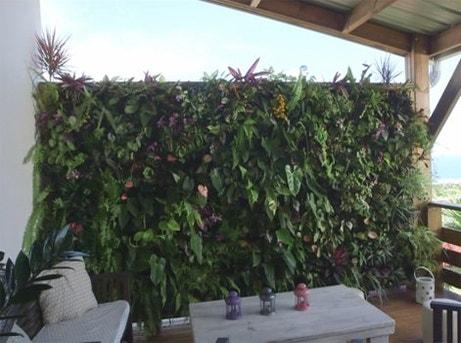 Le jardin l autre pi ce de la maison leroy merlin - Mur vegetal exterieur leroy merlin ...