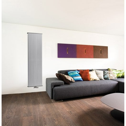radiateur chauffage central deco space mural blanc cm 2440 w leroy merlin. Black Bedroom Furniture Sets. Home Design Ideas