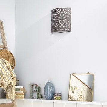 applique murale lampe au meilleur prix leroy merlin. Black Bedroom Furniture Sets. Home Design Ideas