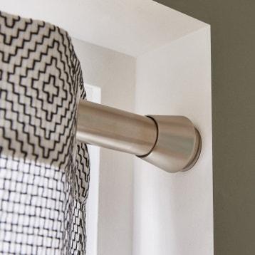 Tringle Rideau Mur A Mur kit de barre à rideau au meilleur prix | leroy merlin