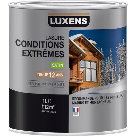 Meilleur Lasure Bois Exterieur - Lasure et vernis extérieur bois au meilleur prix Leroy Merlin