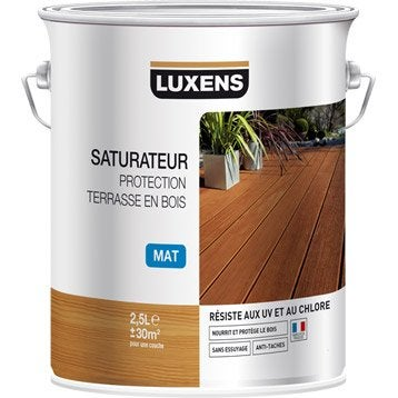 Protection des terrasses saturateur et mobilier de - Saturateur bois terrasse ...