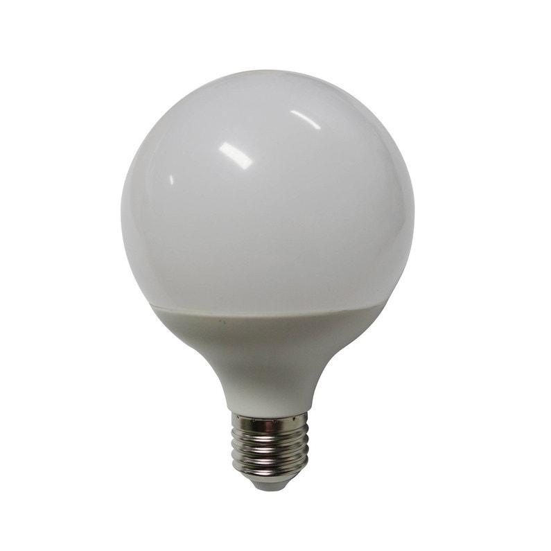 Ampoule Led Globe E27 Diam 95mm 12w 1055lm équiv 75w 3000k 150 Lexman