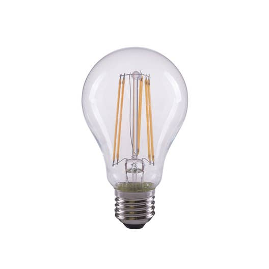ampoule led filament standard e27 12w 1521lm quiv 100w 2700k lexman leroy merlin. Black Bedroom Furniture Sets. Home Design Ideas