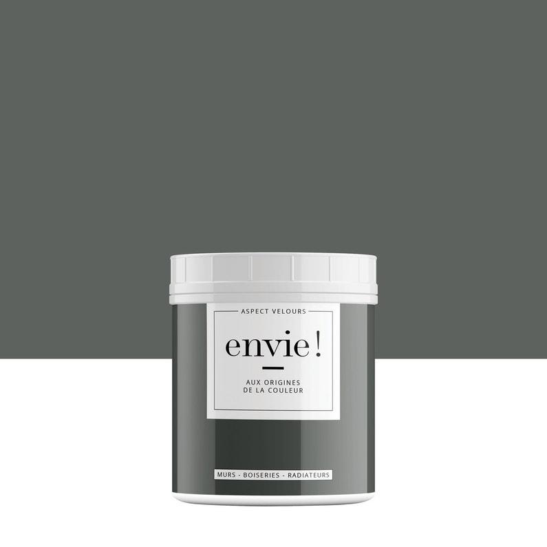 Testeur Peinture Mur Boiserie Radiateur Envie Gris Roche 0075 L