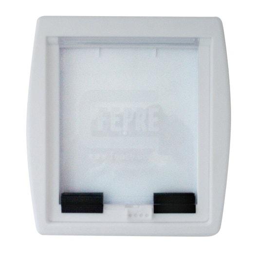 chatire abs blanc 238 x 197 cm