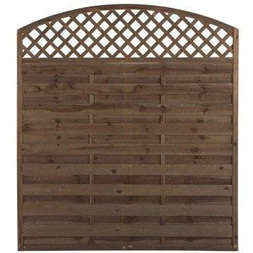 panneau barri re et palissade bois composite grillage canisse panneau cl ture bois. Black Bedroom Furniture Sets. Home Design Ideas
