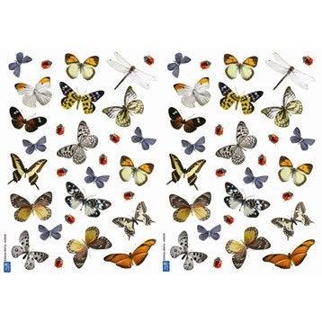 Sticker Papillons cm x cm Leroy Merlin