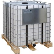 Cuve en polyéthylène haute densité 1000L, blanche, SOTRALENTZ