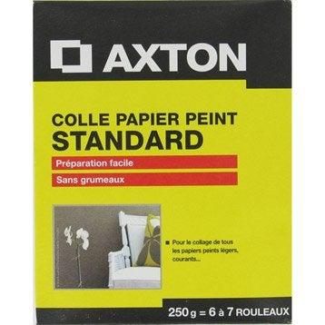 Colle papier peint standard AXTON, 0.25 kg