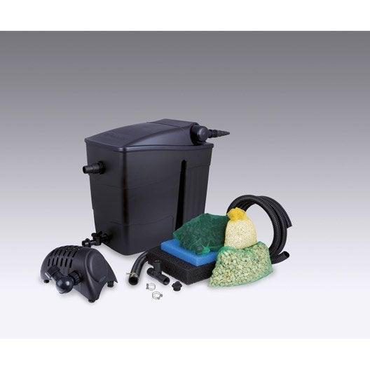 Kit de filtration ubbink filtramax 12500 l leroy merlin - Meubilair bassin leroy merlin ...