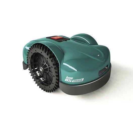 tondeuse robot sur batterie ambrogio l85 evolution 1200 m leroy merlin. Black Bedroom Furniture Sets. Home Design Ideas