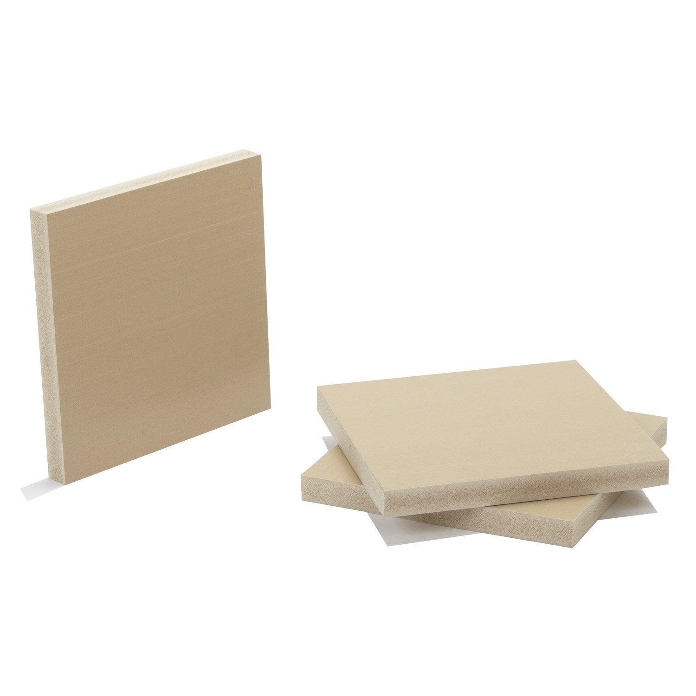 pr d coup fibre composite teint masse naturel mm x x cm leroy merlin. Black Bedroom Furniture Sets. Home Design Ideas