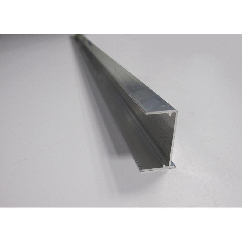 Profil Obturateur Pour Plaque Ep 32 Mm Aluminium L125 M