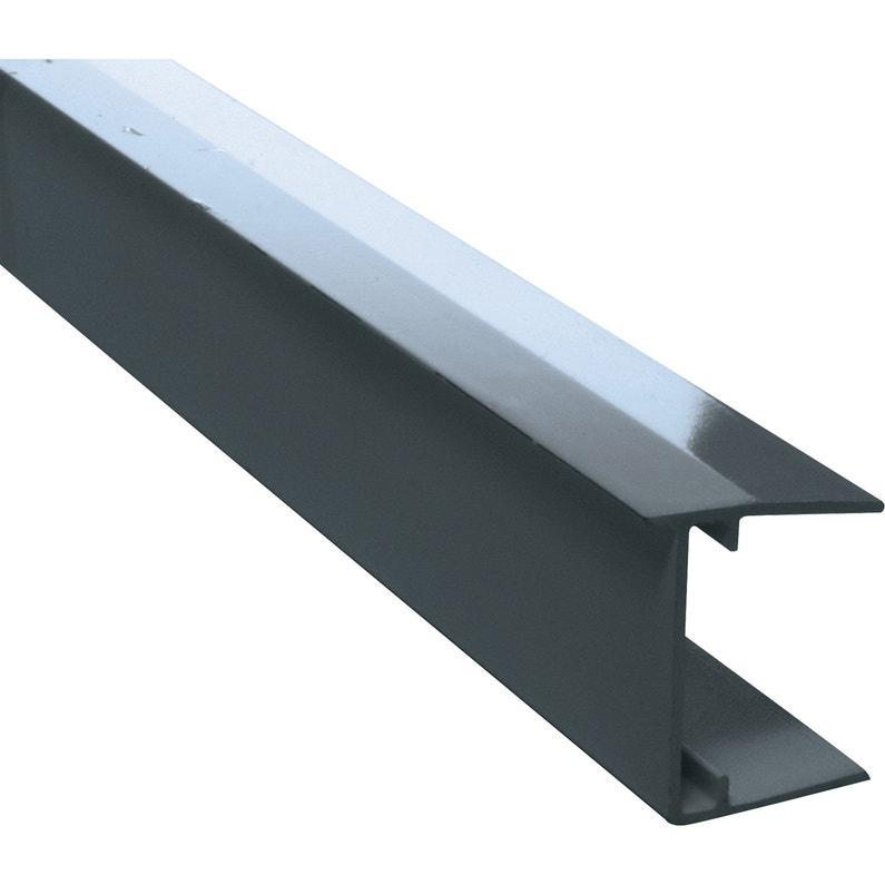 Profil Obturateur Pour Plaque Ep 32 Mm Gris L125 M