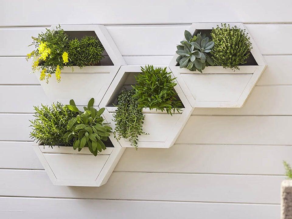 Diy r aliser une jardini re murale leroy merlin - Jardiniere beton leroy merlin ...