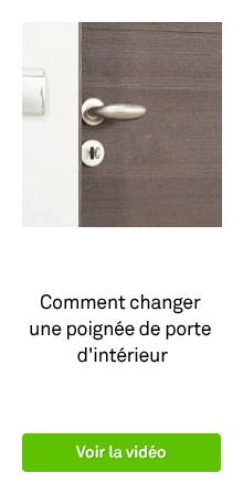 BZ PEDAGO comment changer une poignée de porte d'intérieur