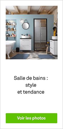 Salle de bains : style et tendances - diaporama