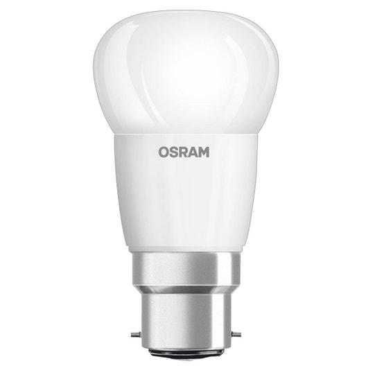 ampoule led ronde b22 4w 470lm quiv 40w 2700k osram leroy merlin. Black Bedroom Furniture Sets. Home Design Ideas