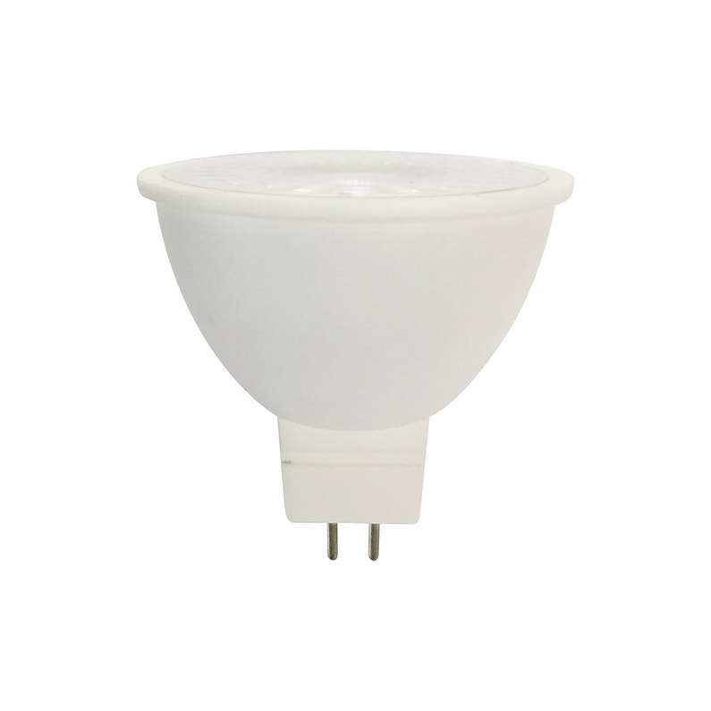 Fantastique Ampoule led dépoli réflecteur GU5.3 104 Lm = 10 W blanc chaud HR-17