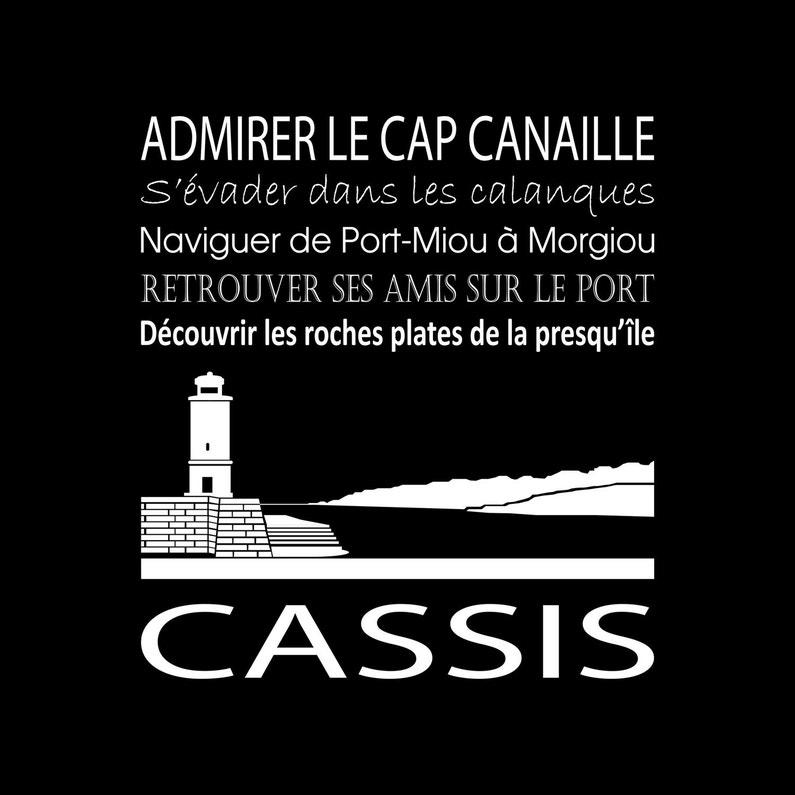 Toile Imprimée Cassis Noir Artis L30 X H30 Cm