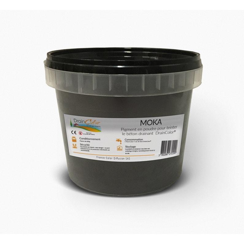 Colorant Béton Drainant Draincolor Couleur Moka 600 G