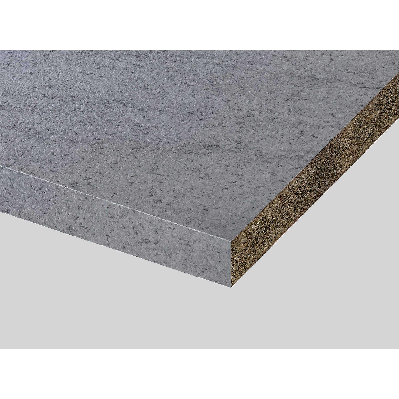 Plan De Travail Granit Beige plan de travail stratifié imit granit clair mat l.315 x p.65 cm, ep.38 mm