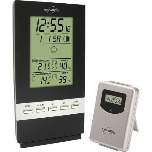 Thermomètre, pluviomètre et station météo