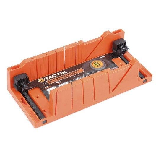 Boîte à onglet autoserrante TACTIX 370 mm