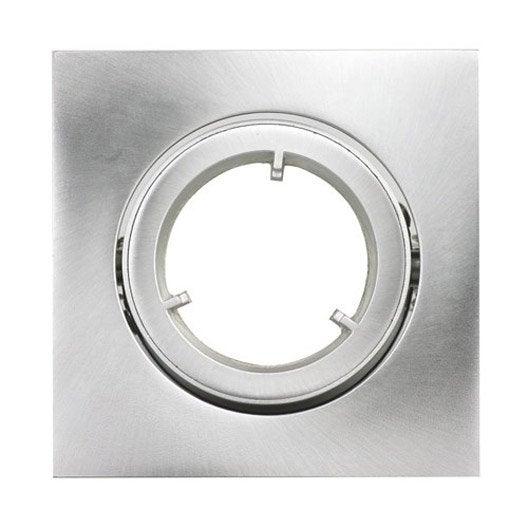 anneau pour spot orientable encastrer tema acier inspire leroy merlin. Black Bedroom Furniture Sets. Home Design Ideas