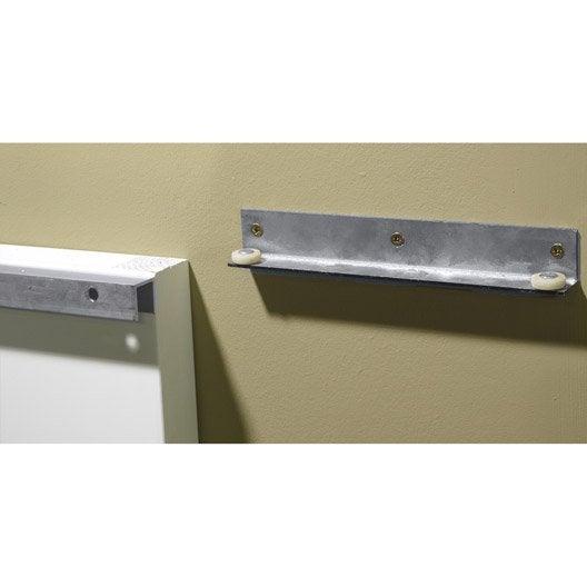 rail coulissant secret artens pour porte de largeur 113 cm leroy merlin. Black Bedroom Furniture Sets. Home Design Ideas