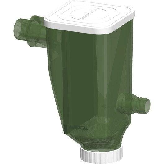 accessoires pour recuperateur d 39 eau de pluie au meilleur prix leroy merlin. Black Bedroom Furniture Sets. Home Design Ideas