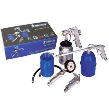 Kit de 5 accessoires Professional Air Kit pour compresseur, MICHELIN