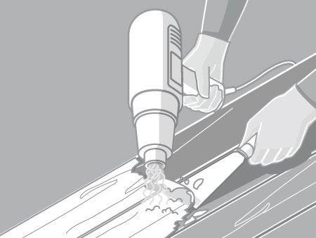 Comment lasurer une porte int rieure en bois leroy merlin for Bati de porte en bois